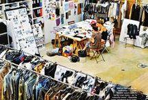 Couture studios • Ateliers Haute couture