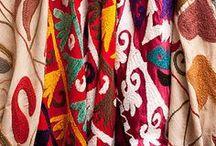 Ethnical textiles • Textiles ethniques