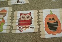 Craft Stick Halloween / Popsicle stick Halloween crafts! Spiders, bats, ghosts, pumpkins, treats and more!