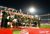 Rugby Players - Springboks