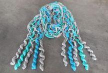 sjaals / zelfgemaakt