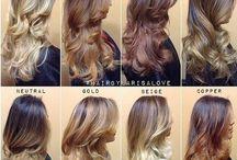 Hairs / Steckfrisuren und Co.