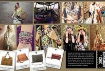 SAKK MOOD: Bohemiand Chic / The design is Dutch, the allure internationally. SAKK is a stylish collection of shoppers, handbags, clutches and wallets.