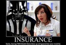 Humor Me / All things funny, even insurance jokes.