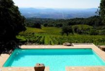 VALDONICA Winery & Vineyard Residence / Welcome to my winery - nestled in the hills of Tuscany with a breathtaking view on the Mediterranean Sea and its island of Giglio. Here it is authentic, pure and local - with all the comfort we enjoy. The spectacular setting of the pool invites for breathing in the beauty of nature. Looking forward to welcoming you!