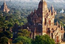 Wishlist | Myanmar / The beautiful country of Myanmar, also known as Birma. Hope to travel there soon.