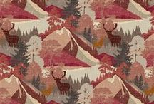 Hudson Bay / The Hudson Bay collection is steeped in the romance of the Canadian wilderness. Stags, tartan checks, mountains and lakes bring a distinctive spirit of adventure, while the mix of linen, wool and velvet lends a rich and luxurious quality.