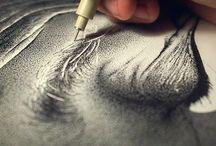 10. Pointilisme ❤️ Pointillism / stippling