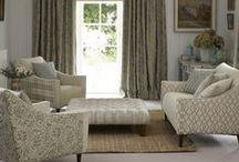 Newlyn / A comprehensive collection, Newlyn comprises bold damasks, elegant florals, smart checks and co-ordinating small scale weaves. With a versatile colour palette of natural linens, muted pastel blues and rich reds, these fabrics work together beautifully to create an elegant and relaxed interior.