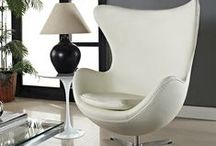 Egg Chairs / Our Egg Chair is ideal for contemporary living or office spaces. We use the finest materials and hand-stitched skills with great care and attention to details, as close to the originals as possible. Bring great art into your home and make it a part of life! http://www.usmlf.com/arne-jacobsen-egg-chair