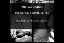 Black and White Series / Explore the brand through the Black and white Series. Real and raw images of behind the scenes, straight from the workroom at Sinclair London!