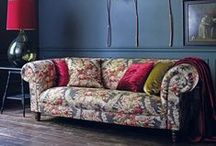 Arcadia / Arcadia celebrates the unique beauty of the English country garden, featuring seven beautiful floral designs suitable for curtains and upholstery.