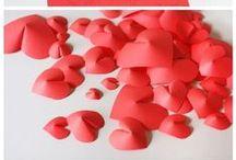 VALENTINE'S DAY / Valentine's Day Inspiration, ideas, crafts, foods