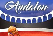 """Andalou / Le héros du livre de Liliane Fournier """"Andalou"""", est un superbe torero du nom de Gaetano. Ils l'ont inspiré!"""