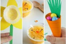 EASTER / Easter games, crafts, books, activities, science experiments, ideas and inspiration.