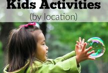 Kids Activities & Crafts / Activities and craft projects for kids for multiple age groups of children-Toddlers, Preschool, and School Age-all at the same time.