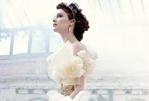 Wedding gowns and veils / Beautiful wedding gowns and veils I would wear if I had the chance again :p / by Diana Miller