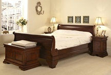 Mahogany Sleigh Bed Collection