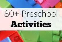 Preschool Activities / Hands on activities for preschoolers (children aged 3-5).