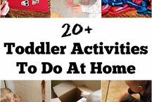 Toddler Activities / Learning activities for Toddlers-children ages 18 months to 3 years old.
