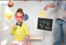 THREE / ruby's rainbow confetti party / images by danielle trovato / by Danielle Trovato