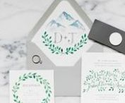 | Wedding Invitations + Paper | / Gorgeous wedding invitations plus wedding table numbers, menu cards, ceremony programs, favor tags, and any other wedding stationery or paper goods you could need!