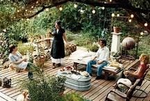 backyard + landscaping