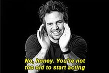 Give him a mask, and he will tell you the truth. / Acting resources.