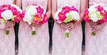 | Pink Wedding Ideas | / Dreaming of a perfectly pink wedding? Find pink wedding ideas and inspiration here, including all shades of blush pink, hot pink, baby pink, and lovely shades of rose.