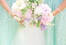 | Mint Wedding Ideas | / Ideas and inspiration on ways to incorporate mint green on your wedding day.