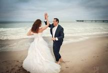 Trash the Dress Bridal Shoot ideas / Beach shoots for the bride and groom after the ceremony - you can get the dress cleaned afterward!  / by Diana Miller