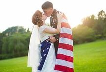 | Military Weddings | / Ideas and inspiration on ways to incorporate military wedding ideas to your big day.