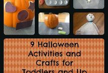 Halloween / Activities, inspiration, DIY projects and decor for Halloween.