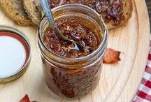Yummy - Condiments /  Sauces, Syrups, Dips, Jams, & other flavor boosters / by Inga Gracyalny Garcia