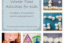Winter Activities & Crafts / Activities for kids all about winter learning and fun.