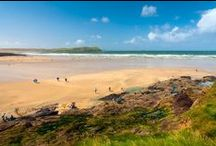Cornish Beaches / There are hundreds to choose from. Some are very small and others are miles wide. Some are covered in pebbles and others with fine golden sand. See our guide to Cornish beaches at http://www.visiting-cornwall.co.uk/beaches.html