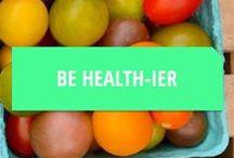 Healthy Recipes / Healthy foods to eat in between pints of Ben & Jerry's and beer.