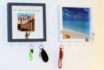 DIY Schlüsselbrett selbst machen / #DIY Schlüsselbrett selbst machen: Im Handumdrehen wird aus einem Bilderrahmen ein Schlüsselbrett, das Sie nach Ihren Vorlieben günstig und einfach selbst gestalten.  / by Immonet