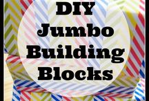 DIY Toys for Kids / Homemade toys for all ages.