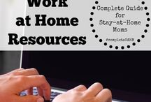 Work at Home Resources / Work at home jobs, job search sites, home-based business resources and tips.