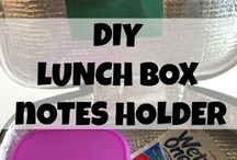 School Lunch Ideas / Ideas for packing lunch for the kids.