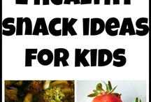 Snack Foods / Simple, unique snack ideas for kids and adults.