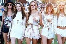 Boho Babes / Best of Bohemian Fashion