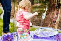 Bubbles! / Filled with science, art, physical activity and fun, the LICM Bubble Gallery is one of our most popular exhibits. Extend the bubbly merriment at home with projects and and explanations of how bubbles work.