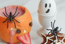   halloween   / spooky, silly and scary treats