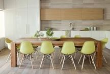   kitchen design inspiration   / a mix of modern and traditional