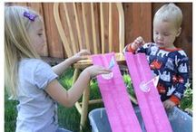 Summer Activities / Beat summer boredom with some of these fun and unique ways keep your kids moving and playing all summer long.