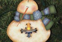 FAAP Summer Pin It Celebration / by (Country Lane Folk Art) Becky Levesque