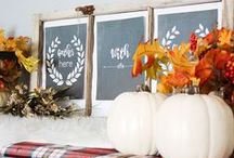 Fall Decor Ideas / Fall officially begins on September 22, but depending on where you live, it might not feel like fall yet. While the outside might not reflect the season now, it's not too early to start decorating for fall. And transitioning from summer to fall decorations doesn't have to be difficult.