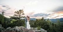 | Colorado Weddings | / From Boulder down to Colorado Springs, here's your inspo for planning your wedding in the great state of Colorado!